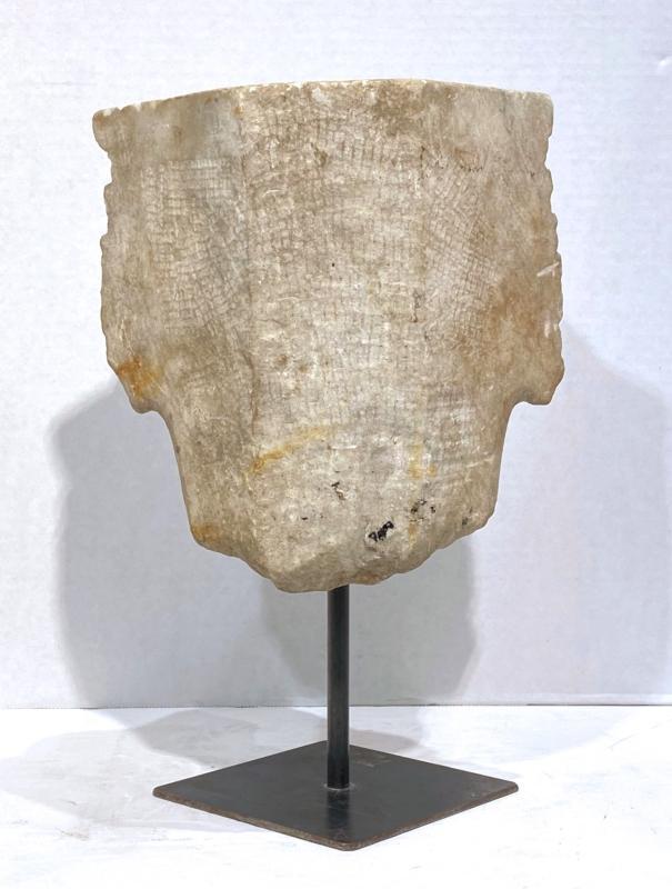 Ancient Roman Marble Capital Fragment