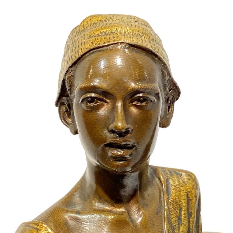 Alfred Dubucand (1828-1894) Orientalist Bronze Sculpture