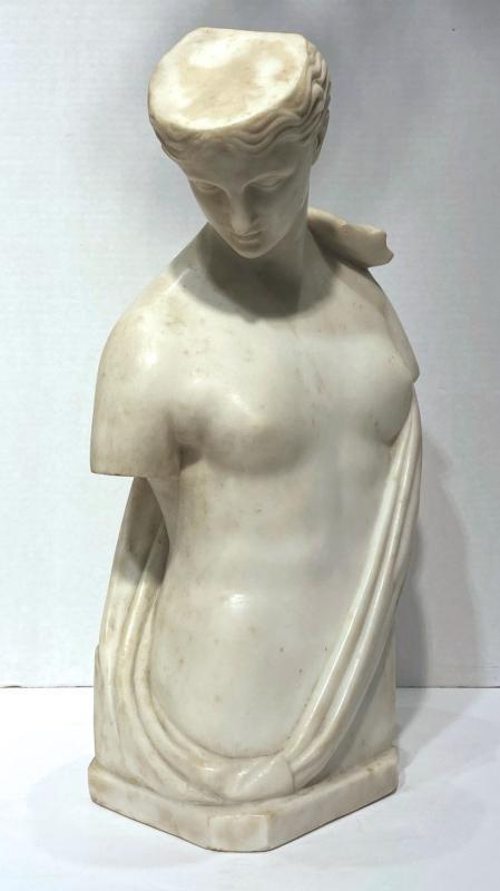 Psyche of Capua Grand Tour Marble Sculpture