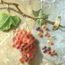 Antique Trompe L'Oeil Still Life Oil Painting by Emma Seligman (1866)