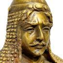 Medieval French Knight Bronze Sculpture