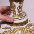 Royal Vienna Porcelain Portrait Vase by Wagner