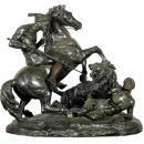 Large Orientalist Group Bronze After Aime Millet (1819-1891)