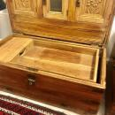 Anglo-Indian Camphor Wooden Trunk