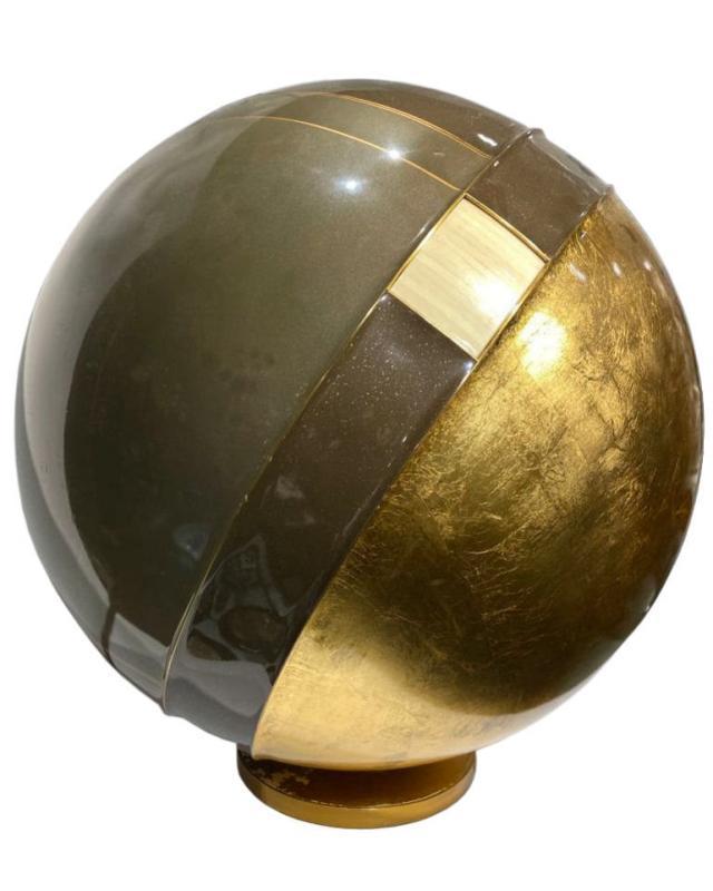 Gene Jonson and Robert Marcius Spherical Sculpture