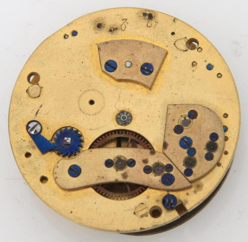 M.I. Tobias Neoclassical Mystery Clock Circa 1820s
