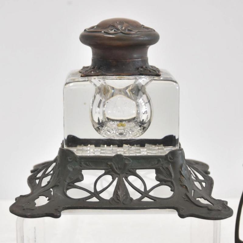 Reed and Barton Art Nouveau Desk Set