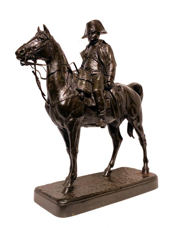 Napoleon on Horseback After Jules Edmond Masson (1871-1932)
