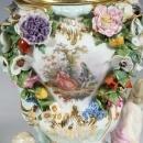Meissen Potpourri Vases with Lids