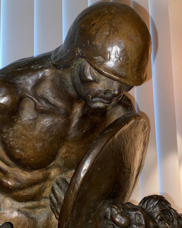 Bronze Honoring President William Howard Taft Arbitration Treaties of 1911