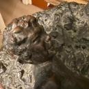 George Conlon (1888-1980) Bronze Sculpture of Baby Satyr and Nymph