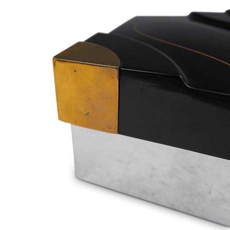 Gene Jonson and Robert Marcius Lacquered Box for Dara International