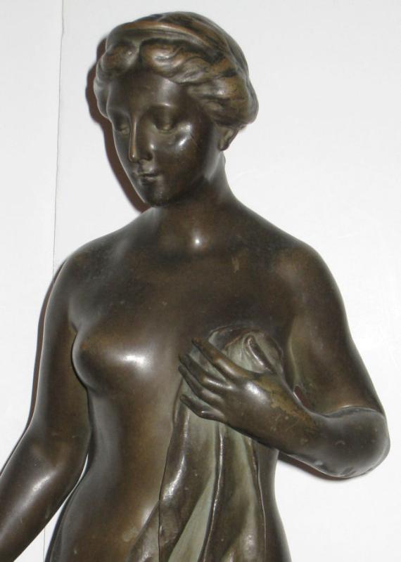 Pygmalion and Galatea Bronze After Henri Godet (1863-1937)
