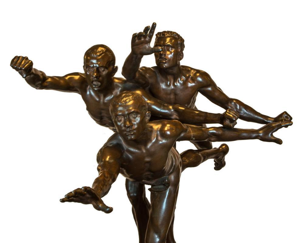 Au But (Finish Line) After Alfred Boucher (1850-1934)