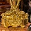 Louis XIV Style Gilt Bronze Candelabra
