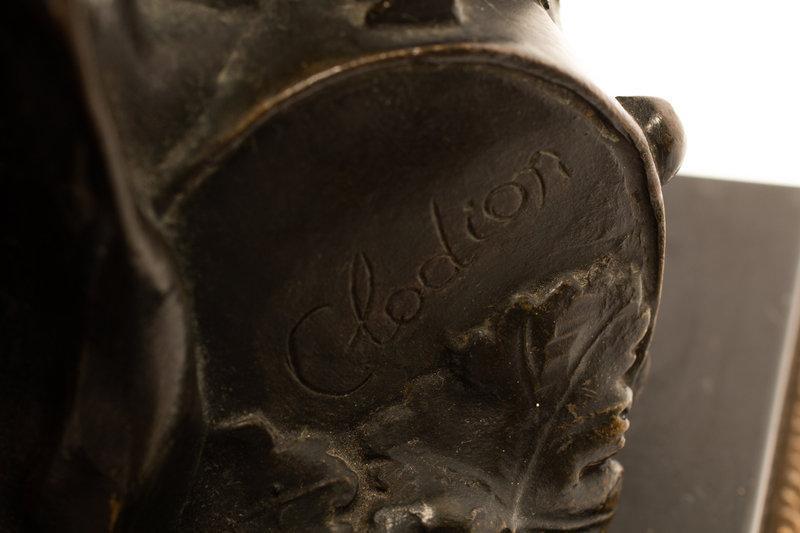 Greek Revival Candelabra After Clodion -- 44 in, 112 cm