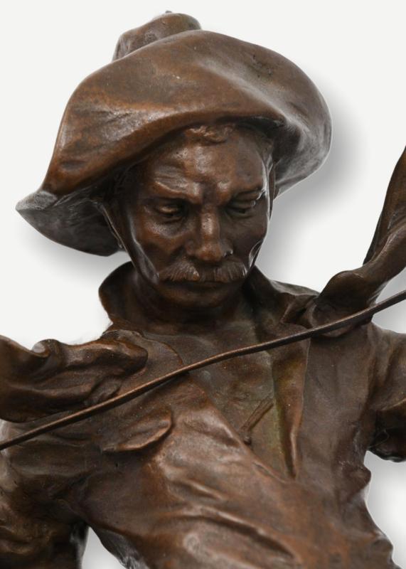 Desperado Bronze Sculpture After Carl Kauba