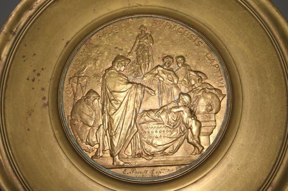 Emile Louis Picault (1833-1915) Greek Revival Bronze Stand