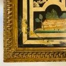 Italian 18th Century Giltwood Table with Painted Top