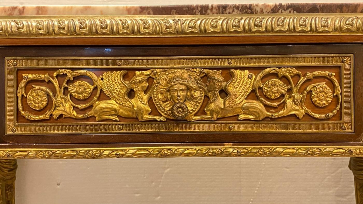 Louis XVI Style Center Table After Adam Weisweiler
