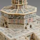 Mother of Pearl Jewelry Chest Modelled After Al Aqsa Mosque
