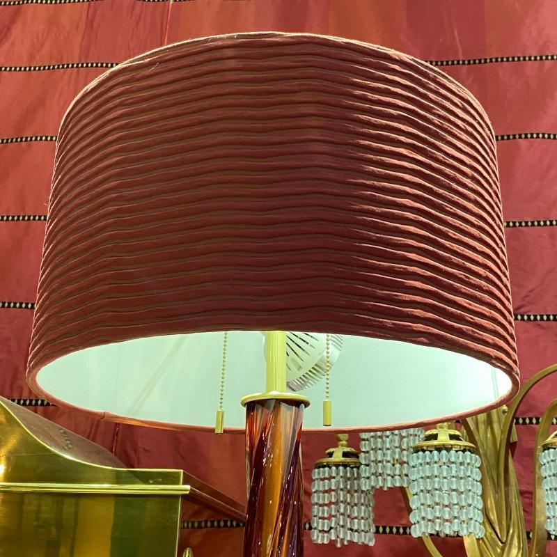 Donghia Piroetta Bassa Murano Glass Floor Lamps