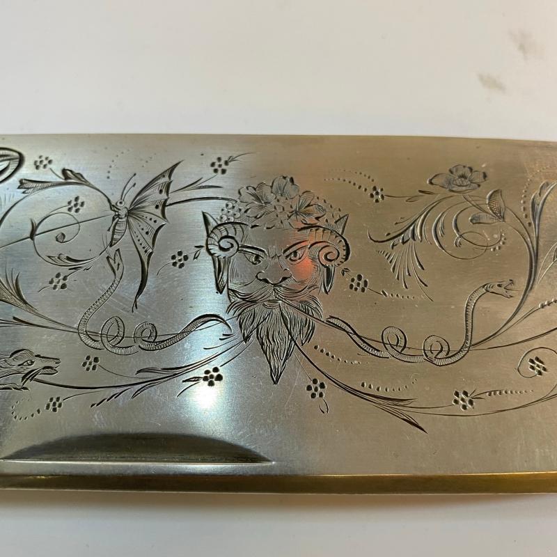 Large Antique Folding Knife (40 cm, 15 3/4 in)