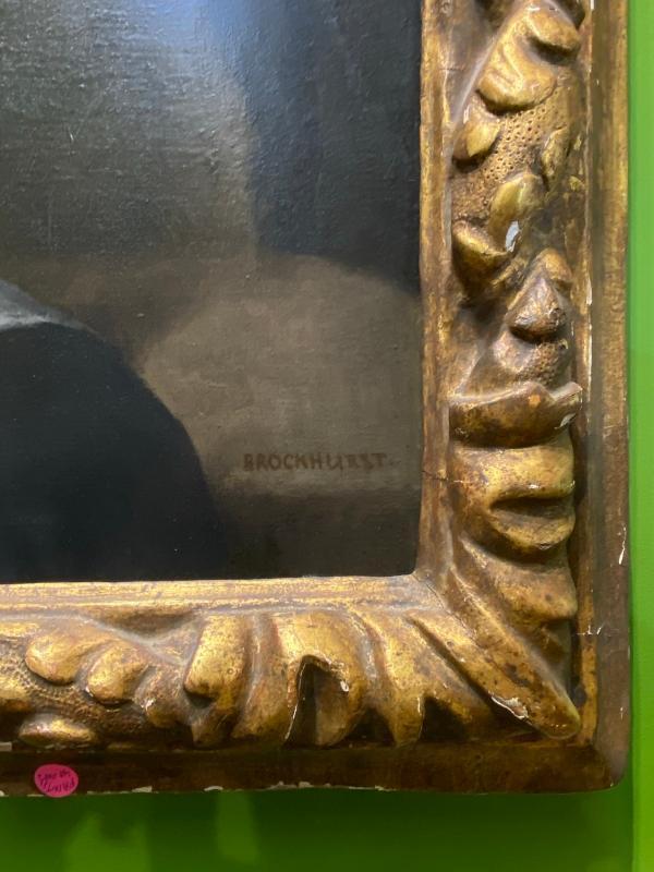 Gerald Brockhurst Portrait of Dorette Entitled Zeitgeist