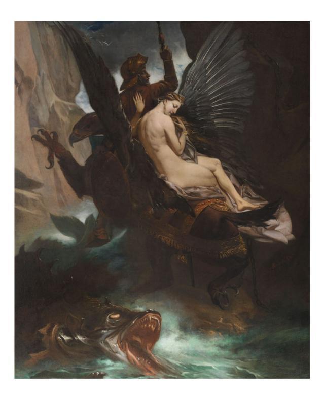 Adolphe Leofanti (1838-1890) Roger Freeing Angelica