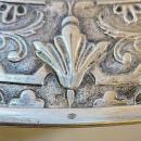Renaissance Revival Repousse Silver Wall Charger