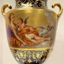 Royal Vienna Allegorical Porcelain Urns