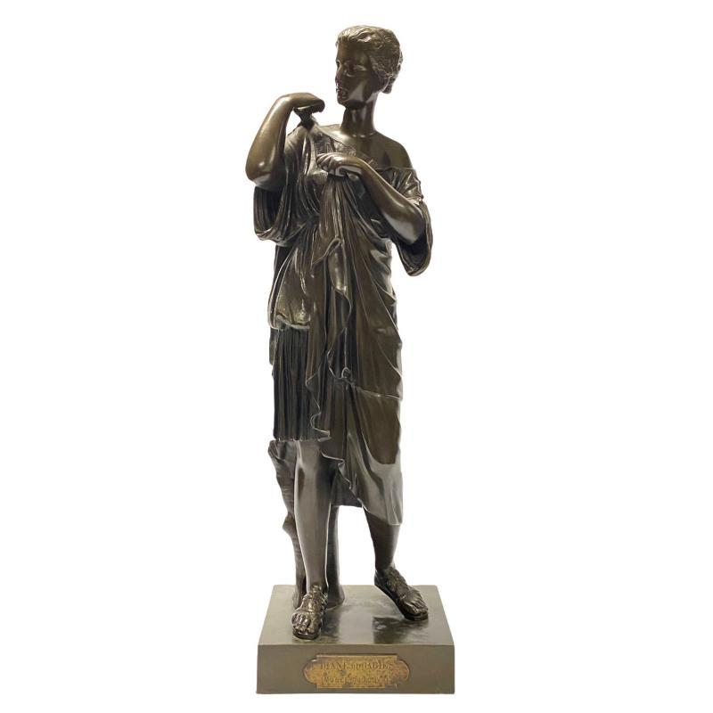 Diana of Gabii Bronze Sculpture