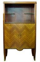 Haentges Art Deco Liquor Display Cabinet