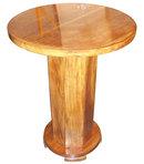 French Art Deco Mahogany Side Table
