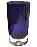 Kaj Franck Attributed Nuutajarvi Notsjo Mid-Century Sommerso Glass Vase