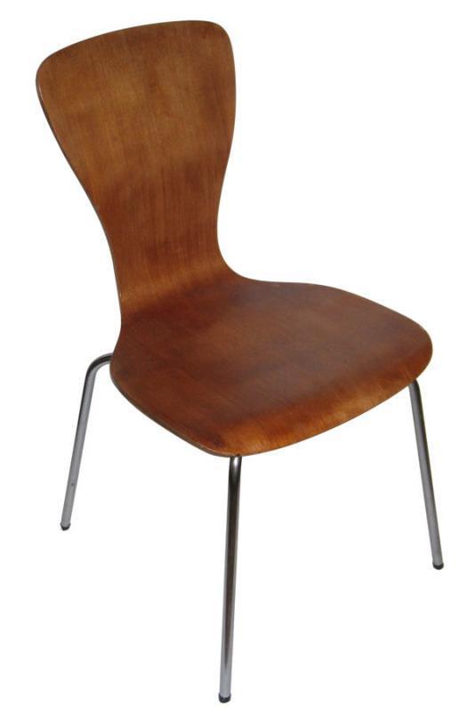 Set 4 Rare Mid-Century Nikke Chairs by Tapio Wirkkala for Asko 1960s