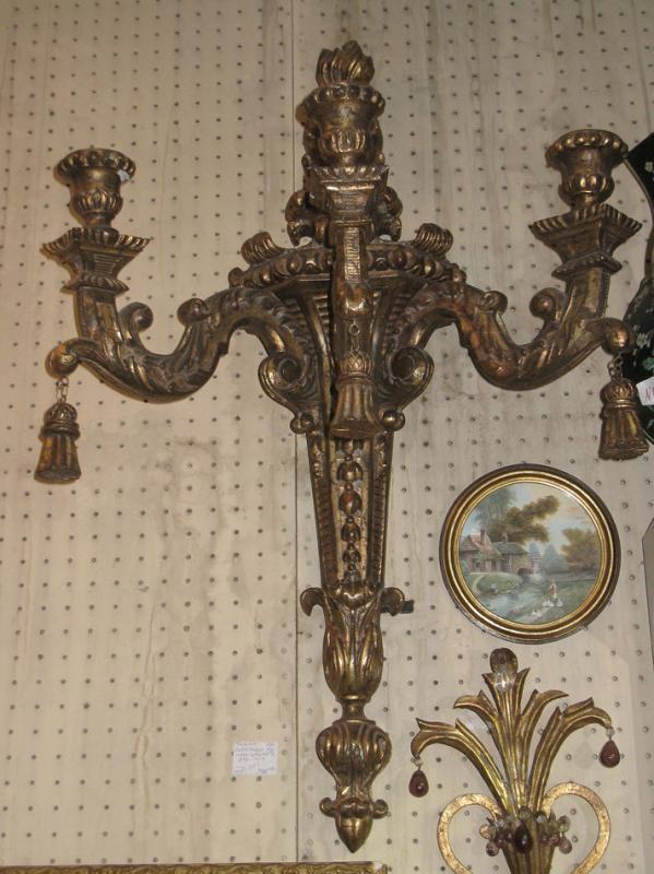 Pair Antique Italian Baroque Style 35