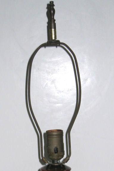 Antique British Arts & Crafts Ceramic Table Lamp from Moorcroft