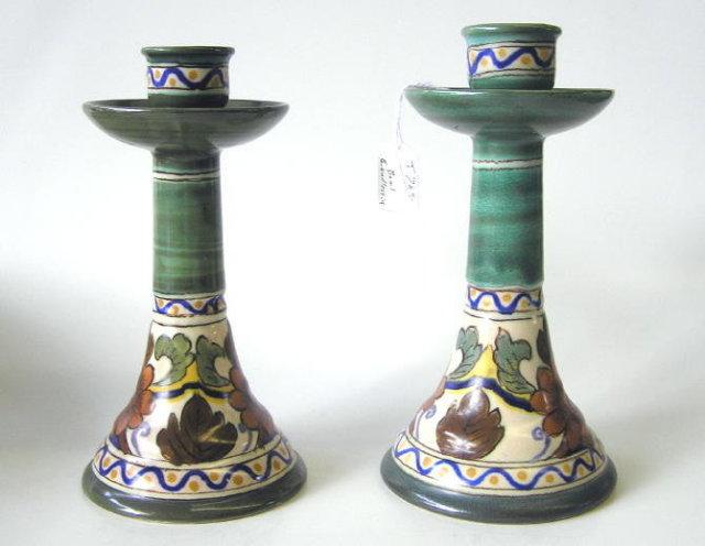 Orel Gouda Console Set Bowl & Candlesticks