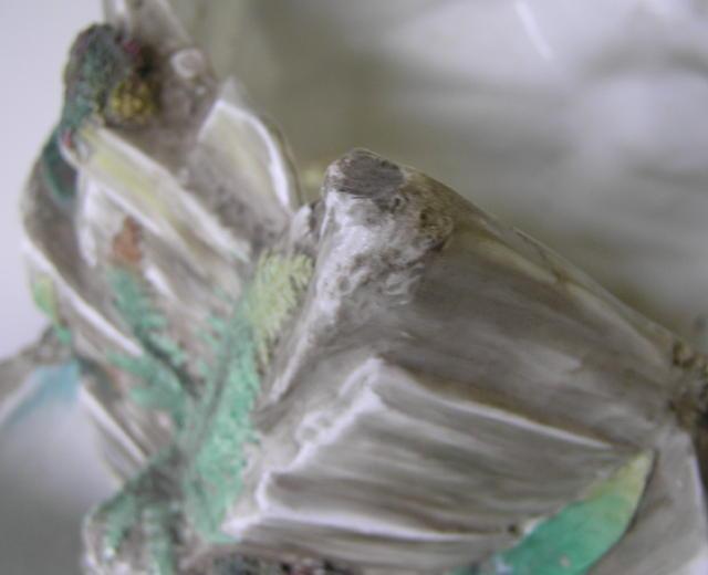 Rare Antique English Royal Worcester Porcelain Jardiniere c1863-