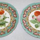 Antique 12-pc English Porcelain Dessert Service