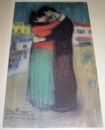 Pablo Picasso Les Bleus de Barcelone Poster from 1964