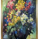 Emeric Impressionist Floral Still Life Oil Painting