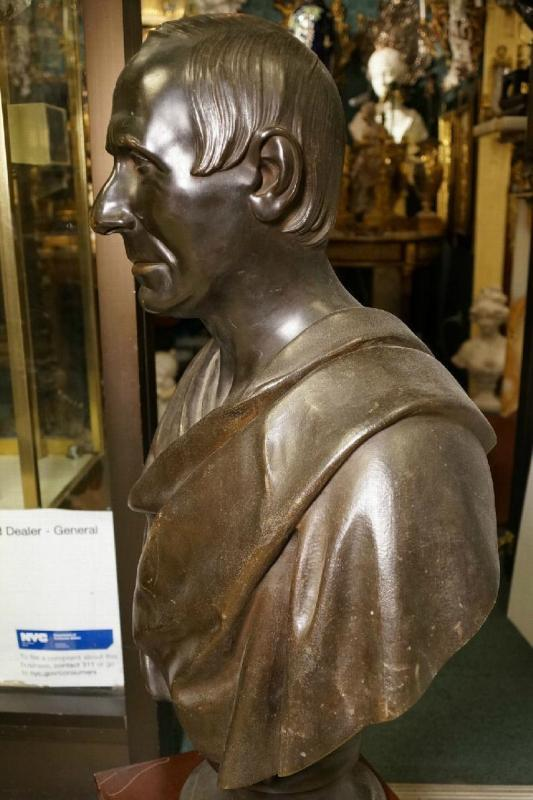 Bronze Bust of Niccolo da Uzzano (1359-1431) of Florence ( Firenze )