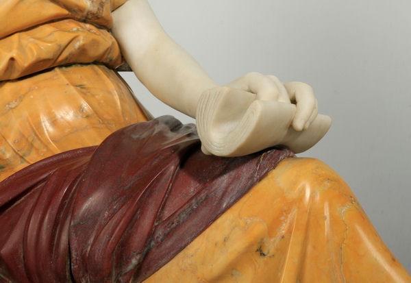 Ferdinando Vichi Marble Statue Sculpture
