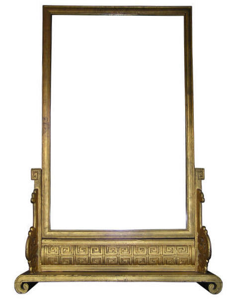 Chinoiserie Giltwood Dressing Mirror