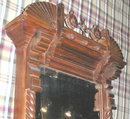 8 Foot Eastlake Looking Glass Pier Mirror