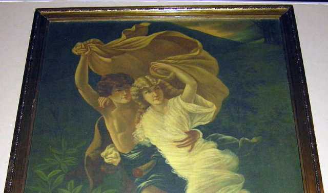 The Storm Oil Painting After Pierre-August Cot