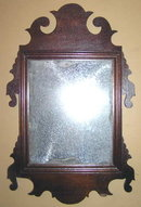 Small 19th Century Looking Glass Mirror