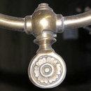 Electrified Victorian Gas Bronze Chandelier
